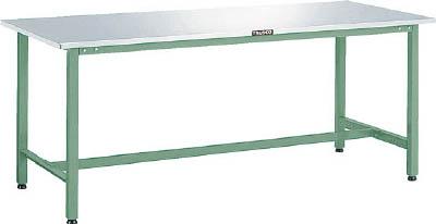 トラスコ中山 TRUSCO AES1800W 直送 代引不可・他メーカー同梱不可 ステンレス張りAE型作業台 1800X750 W色