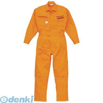 【あす楽対応】AUTO-BI[1280-OR-4L] ツナギ服 4Lサイズ オレンジ1280OR4L
