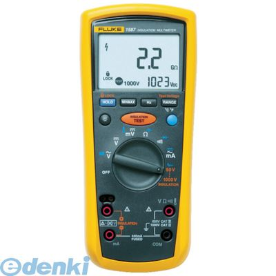 FLUKE 1587FC デジタル・マルチメーター付絶縁抵抗計
