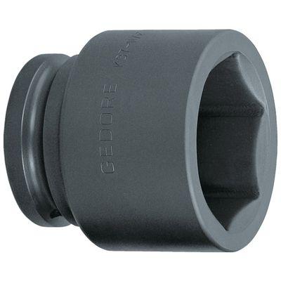GEDORE 6329100 インパクト用ソケット 6角 1・1/2 K37 90mm