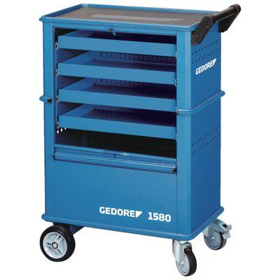 ファッションの ツールトローリー 引出4段 45x4:測定器・工具のイーデンキ 6627550 GEDORE-DIY・工具