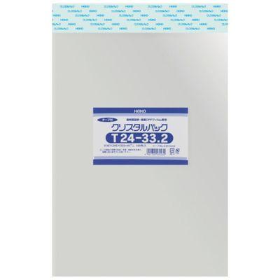 【あす楽対応】HEIKO[6741010] 【10個入】 OPP袋 テープ付き クリスタルパック T24-33.26741010T2433.2