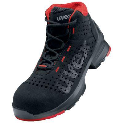 【あす楽対応】UVEX[8547.5-42] ブーツ ブラック 27.0CM8547.542