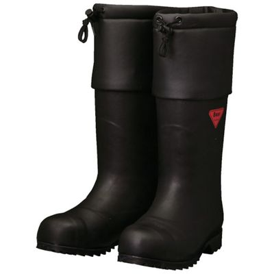 SHIBATA AC111-22.0 防寒安全長靴 セーフティベアー#1001白熊 ブラック AC11122.0