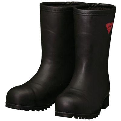 【あす楽対応】SHIBATA[AC121-23.0] 防寒安全長靴セーフティベアー#1011白熊(ブラック)フード無しAC12123.0
