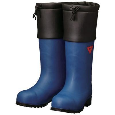 SHIBATA AC051-23.0 防寒安全長靴 セーフティベアー#1001白熊 ネイビー AC05123.0