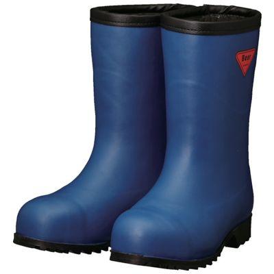 SHIBATA AC061-23.0 防寒安全長靴セーフティベアー#1011白熊 ネイビー フード無しAC06123.0