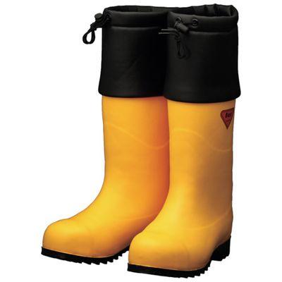 【あす楽対応】SHIBATA[AC091-28.0] 防寒安全長靴 セーフティベアー#1001白熊(イエロー)AC09128.0