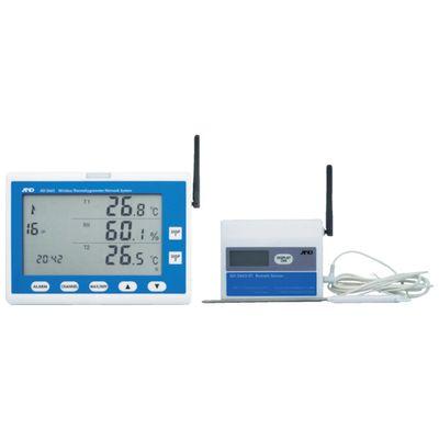 A&D AD5665SET ワイヤレス温湿度計 AD5665SET