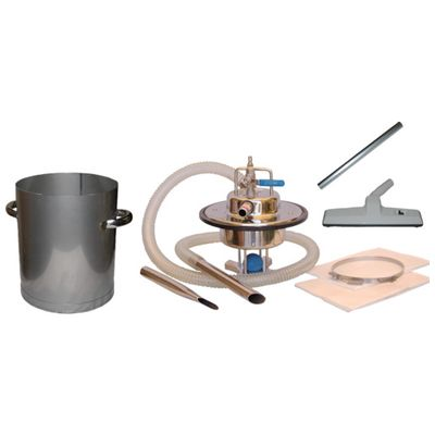 【あす楽対応】アクアシステム[AVC-550SUS-SET] エア式乾湿両用ステンレス製掃除機セット(オープンペール缶専用)AVC550SUSSET
