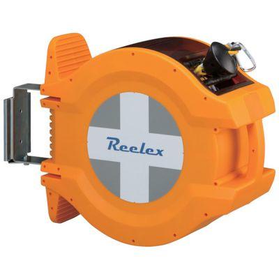 【あす楽対応】【個数:1個】Reelex[BRR-1220HL] バリアロープリール(反射トラロープ20m)BRR1220HL