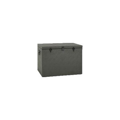 【個数:1個】アルインコ BXA065GR 万能アルミ製BOX ODグリーン色