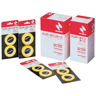 【あす楽対応】ニチバン[CL536-5] 【20個入】 クリアーラインテープNO.536CL5365