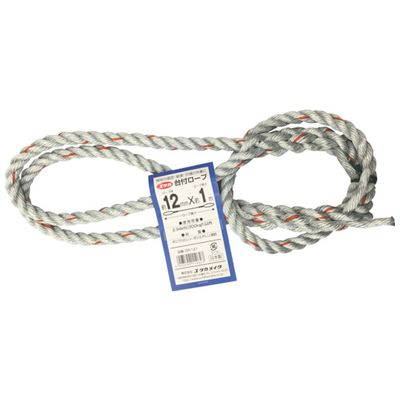 【あす楽対応】ユタカ[DR-121] 【24個入】 台付ロープ 12mm×1mDR121