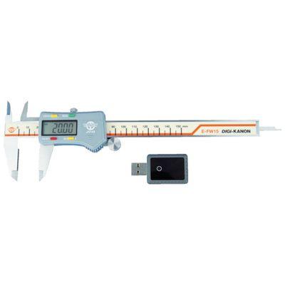 人気大割引 コンパクトワイヤレスデ−タ送信デジタルノギスE−FWEFW15:測定器・工具のイーデンキ E-FW15 カノン-DIY・工具