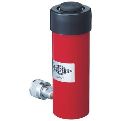 代引き手数料無料 単動式:測定器・工具のイーデンキ スーパー HC23S50N 油圧シリンダ-DIY・工具