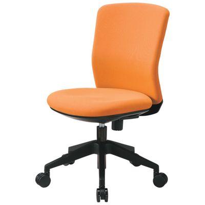 【個数:1個】アイリスチトセ HG1000-M0-F-OG 回転椅子 HG1000 本体 オレンジHG1000M0FOG