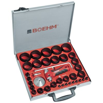 BOEHM JLB260PACC 穴あけポンチ 34個セット シールリングカッター付