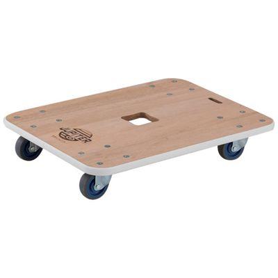 【あす楽対応】TRUSCO[JUP-9045-200] 木製平台車 ジュピター 900X450 φ75 200kgJUP9045200