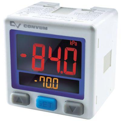 【ポイント最大41倍!12/20日限定!※要エントリー】【あす楽対応】CONVUM[MPS-P35R-NCA] デジタル圧力センサ 正圧 出力2点 アナログ出力付MPSP35RNCA