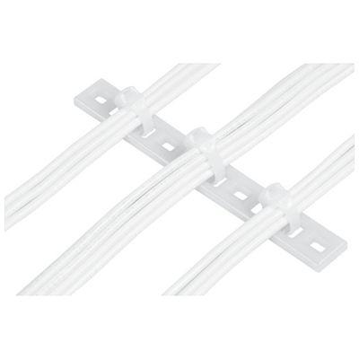 パンドウイット MTP5H-E10-C 固定具 マルチタイプレート 100個入 MTP5HE10C