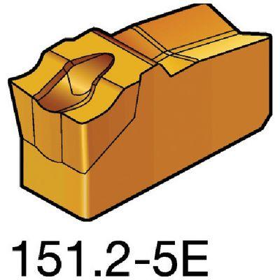 サンドビック N151.2-600-5E 【10個入】 T-Max Q-カット 突切り・溝入れチップ 2135 2135N151.26005E