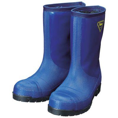 SHIBATA NR021-28.0 冷蔵庫用長靴-40℃ NR021 28.0 ネイビーNR02128.0