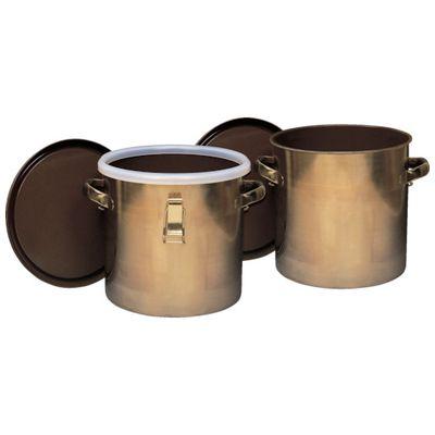 【あす楽対応】フロンケミカル[NR0378-003] フッ素樹脂コーティング密閉タンク(金具付) 膜厚約50μ 15LNR0378003