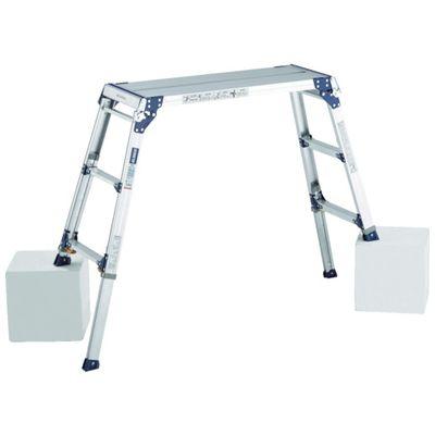 【個数:1個】アルインコ PXGE-1012FX 足場台 天板高さ1.01~1.31m 最大使用質量100kgPXGE1012FX