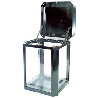【個数:1個】ラバーメイド[RM397589BK] ランドマークシリーズ セキュリティコンテナ