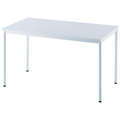 【個数:1個】アールエフヤマカワ RFSPT-1270WH RFシンプルテーブル W1200×D700 ホワイトRFSPT1270WH