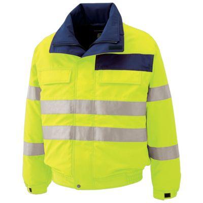 【個数:1個】ミドリ安全 SE1134-UE-L 高視認性 防水帯電防止防寒ブルゾン イエロー LSE1134UEL