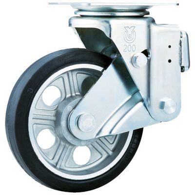 ユーエイ SKY-1S200AW-AS スカイキャスター自在車 200径アルミホイルウレタンB入り車輪SKY1S200AWAS