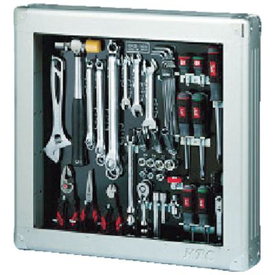 KTC[SK3560SS] 9.5sq.工具セット(薄型収納メタルケースタイプ)