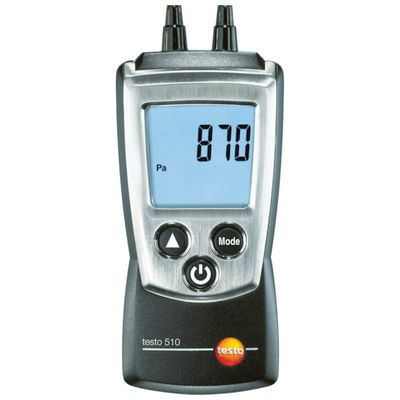 【あす楽対応】テストー[TESTO510SET] ポケットライン差圧計セット