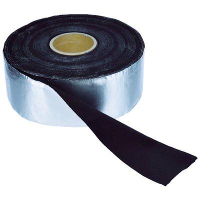 TRUSCO TFA-41010 アルミ箔耐炎フェルトテープ 厚み4mmX幅95mmX長さ9mTFA41010