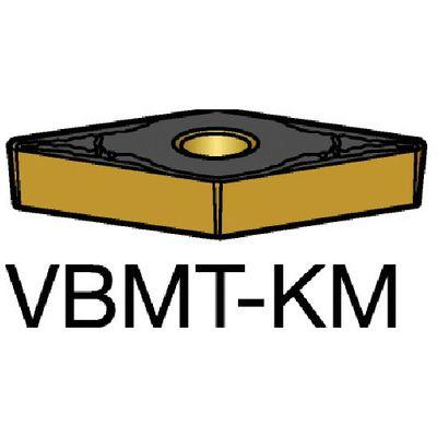 サンドビック VBMT 【10個入】 コロターン107 旋削用ポジ・チップ 3005 3005VBMT160408KM