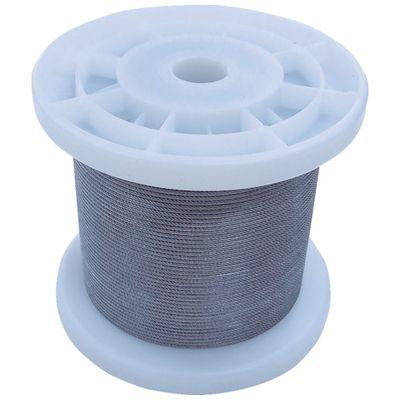 ニッサチェイン[TSY12V-CLR] 透明コーティングワイヤロープ 1.2mm×100m 1巻TSY12VCLR