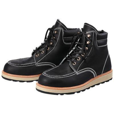 青木安全靴 US-200BK-24.0 US-200BK 24.0cmUS200BK24.0