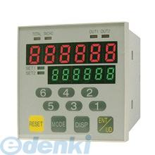 【受注生産品 納期-約2.5ヶ月】ライン精機(LINE) [G21-6010] 通信機能付電子カウンタ G21-6010 G216010
