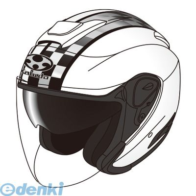 OGK KABUTO(オージーケーカブト) [4966094562434] ASAGI SPEED ホワイト S【送料無料】