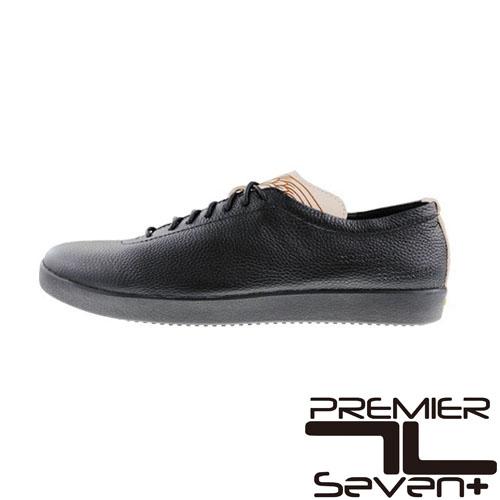 プレミアセブン 【PEMIER SEVEN】PS-752 (ブラック)レザースニーカー 送料無料【あす楽】12-207レザー