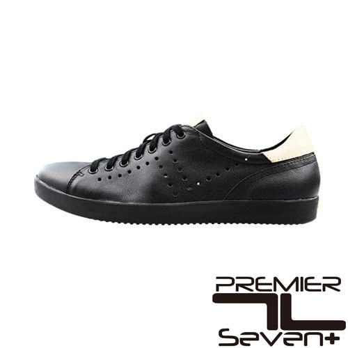 プレミアセブン 【PEMIER SEVEN】PS-751 (ブラック)レザースニーカー 送料無料【あす楽】12-210レザー