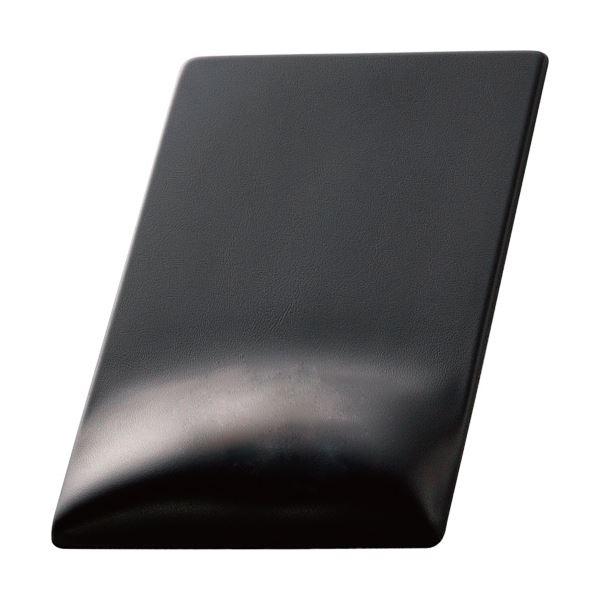 (まとめ)エレコム 疲労軽減マウスパッドFITTIO(High) ブラック MP-116BK 1枚【×2セット】【卸直送品】
