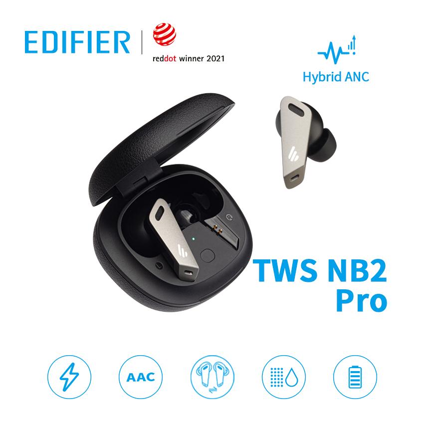 ワイヤレスイヤホン ANCノイズキャンセリング 高音質 クリア通話 IP54防水防塵 40%OFFの激安セール コンパクトBluetooth 5.0 最大32時間音楽再生 急速充電対応 ゲーミングモード 両耳 片耳 Red dot受賞 品質検査済 完全 NB2 ノイズキャンセリング bluetooth bluetoothイヤホン サラウンドサウンド Edifier pro 低遅延 MIC認証取得済み ANC TWS クリアな通話