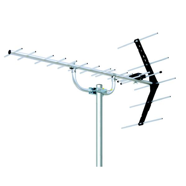 人気ブレゼント! UHF14素子アンテナ DXアンテナ 中電界用 UA14 卸売り