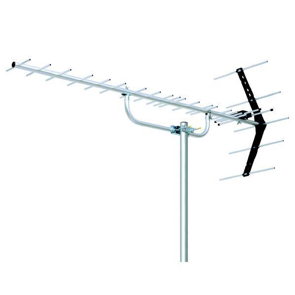 UHF20素子アンテナ DXアンテナ 高品質 中 UA20 開店祝い 弱電界用