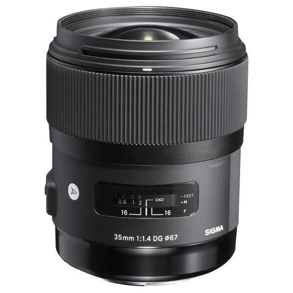 シグマ 大口径広角レンズ(ソニー用) 35mm F1.4 DG HSM 35MMF14DGHSMソニ- [35MMF14DGHSMソニ-]