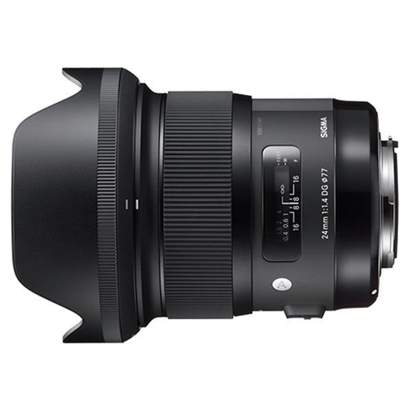 シグマ 広角レンズ 24mm F1.4 DG HSM 24MMF14DGHSMニコン [24MMF14DGHSMニコン]