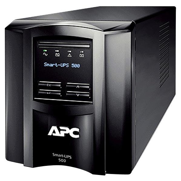 【送料無料】APC 無停電電源装置 ブラック SMT500J [SMT500J]